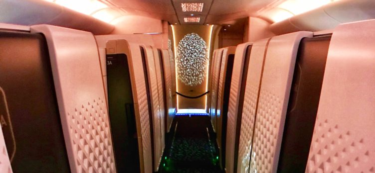 Etihad Apartments Aisle with Lighting