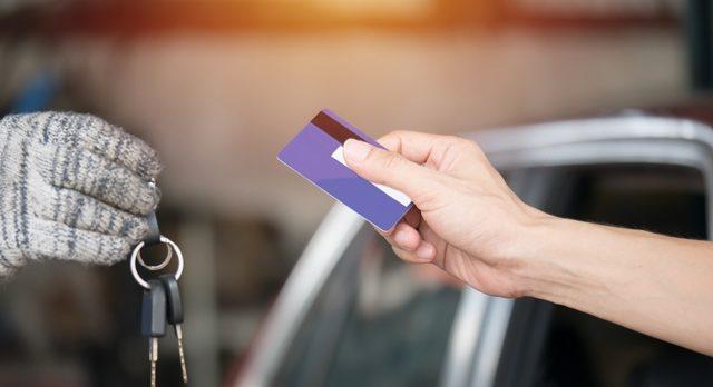 Keys and credit card
