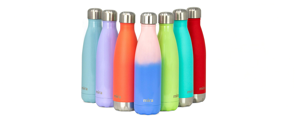 7a23575c70d MIRA Stainless Steel Vacuum Insulated Water Bottle