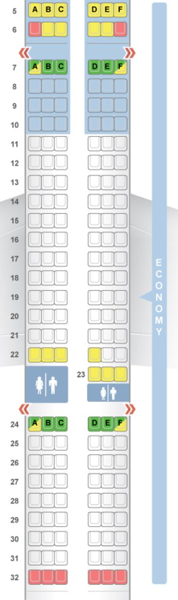 Aer Lingus Direct Routes From The Us Plane Types Seat