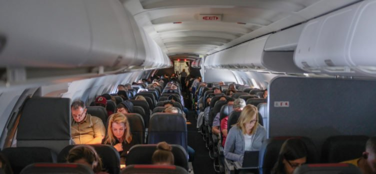 American Airlines Economy Cabin