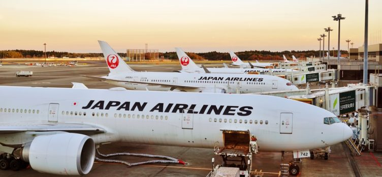 Japan Airlines Planes