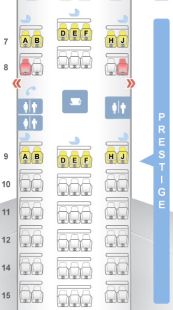 Definitive Guide to Korean Air U S  Routes [Plane Types
