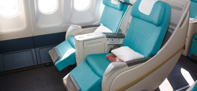 Korean Air A330 Business Class Seats