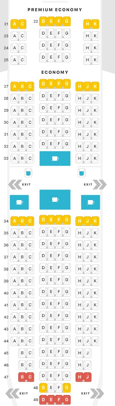 Lufthansa Seat Map Definitive Guide to Lufthansa U.S. Routes [Plane Types & Seat Options]