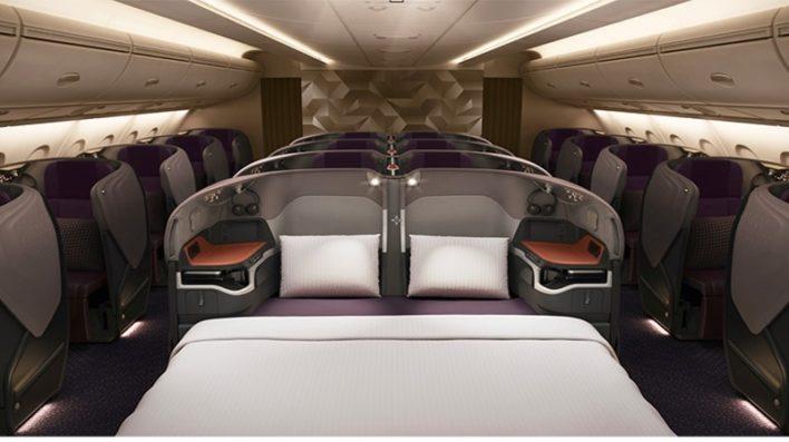 Singapore Airlines A380 Nova Classe Executiva