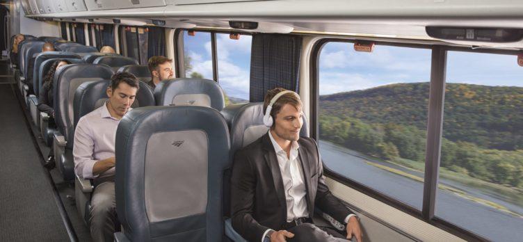 Amtrak Acela Express Business Class Seating