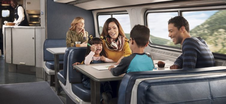 Amtrak Cafe Car