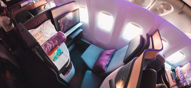 Qatar Airways Boeing 777 Qsuite Business Class