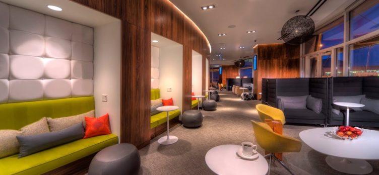 AMEX Centurion Lounge Las Vegas Couches