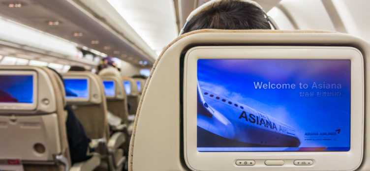 Asiana Airlines Economy Cabin