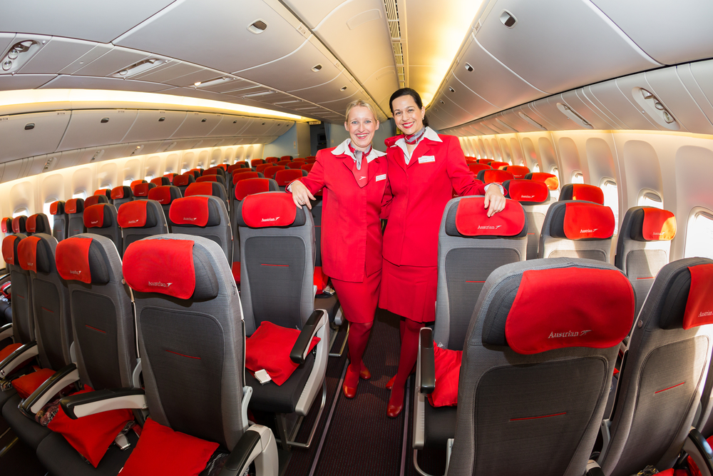 Austrian Airlines Cabin 777