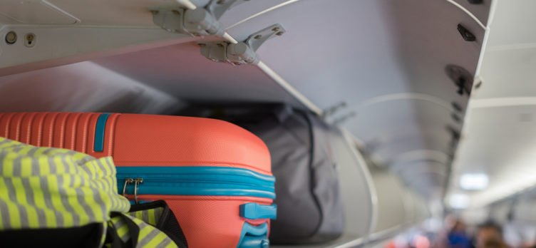 Carry On Bags in Overhead Compartment
