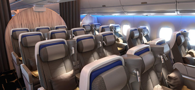 China Airlines A350-900 premium economy