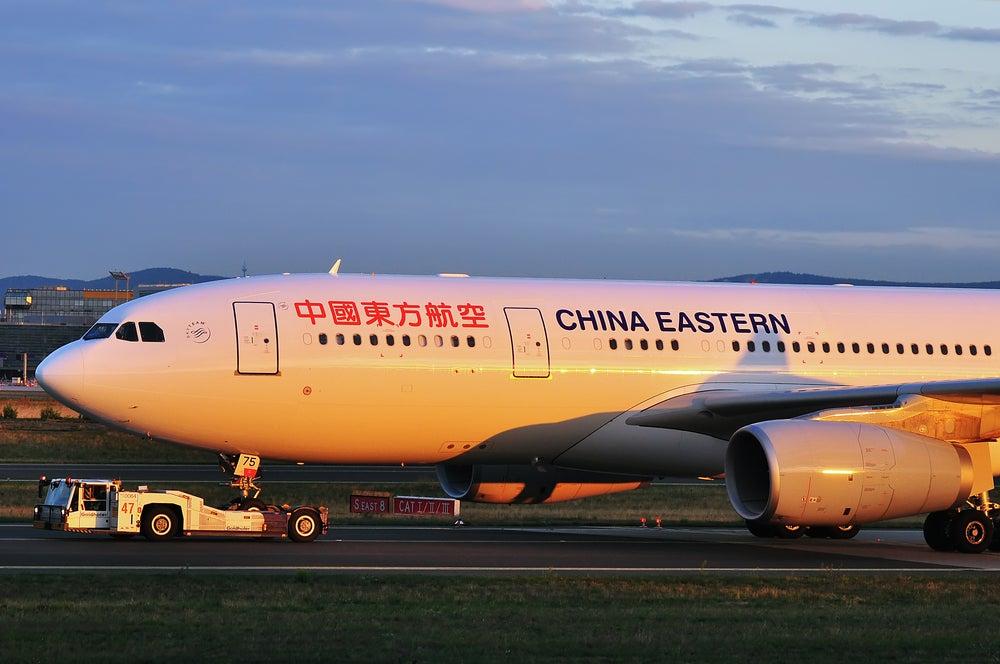 China Eastern Plane