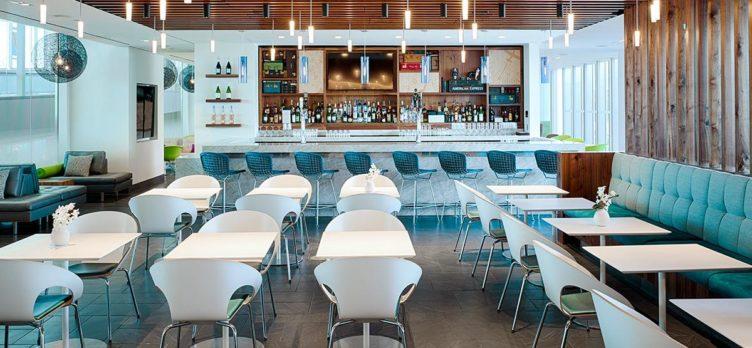 Philadelphia Centurion Lounge Dining Area