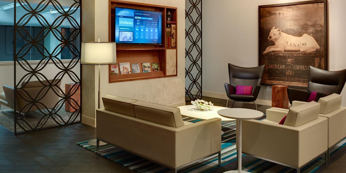 SFO Centurion Lounge Seating