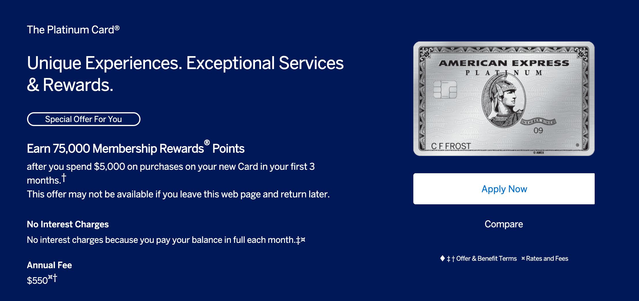 How To Get The Amex Platinum 100,000 Bonus [September 2019]