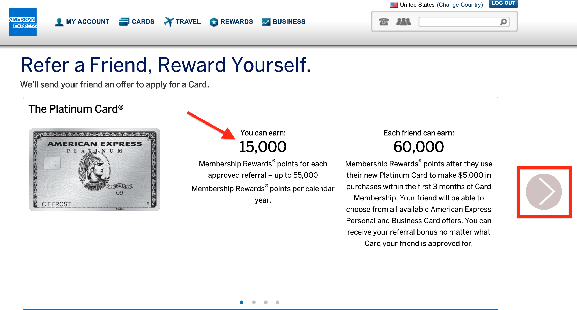 The Amex Refer-a-Friend Program [Earn 50,000+ Points Every Year]