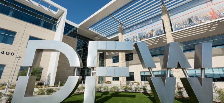 Dallas Fort Worth International Airport Sign