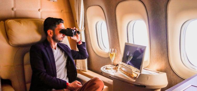 Emirates First Class Game Changer Binoculars
