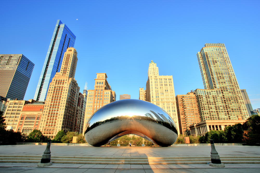 This is how to book flights between New York (LGA) and Chicago (ORD)