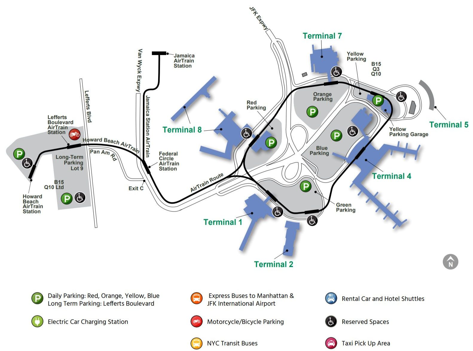 delta jfk terminal 4 map How To Get Between Terminals At Jfk International Airport 2020 delta jfk terminal 4 map