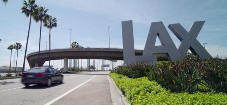 Los Angeles International Airport Sign