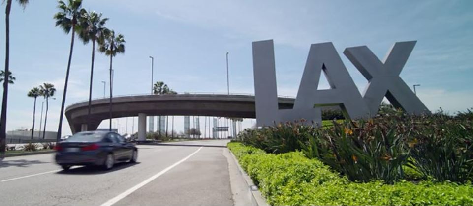 Los Angeles International Airport Sign