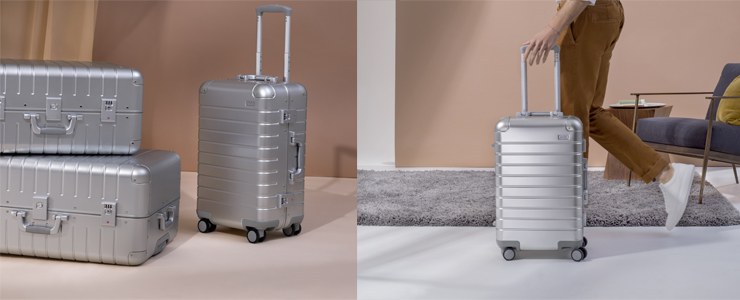 Away Carry-On Luggage Aluminum