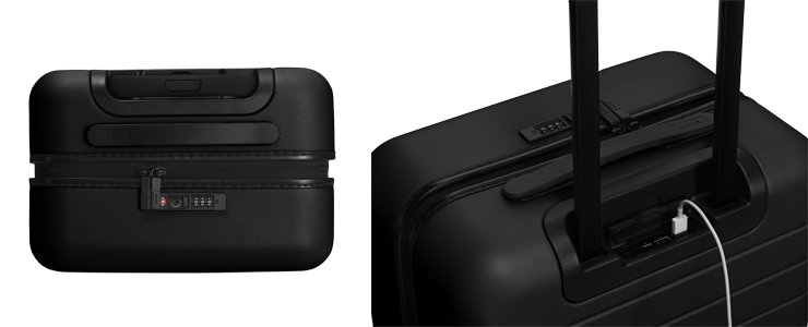 Away Carry-On Luggage Black