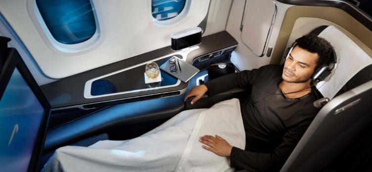 British Airways First Class 787