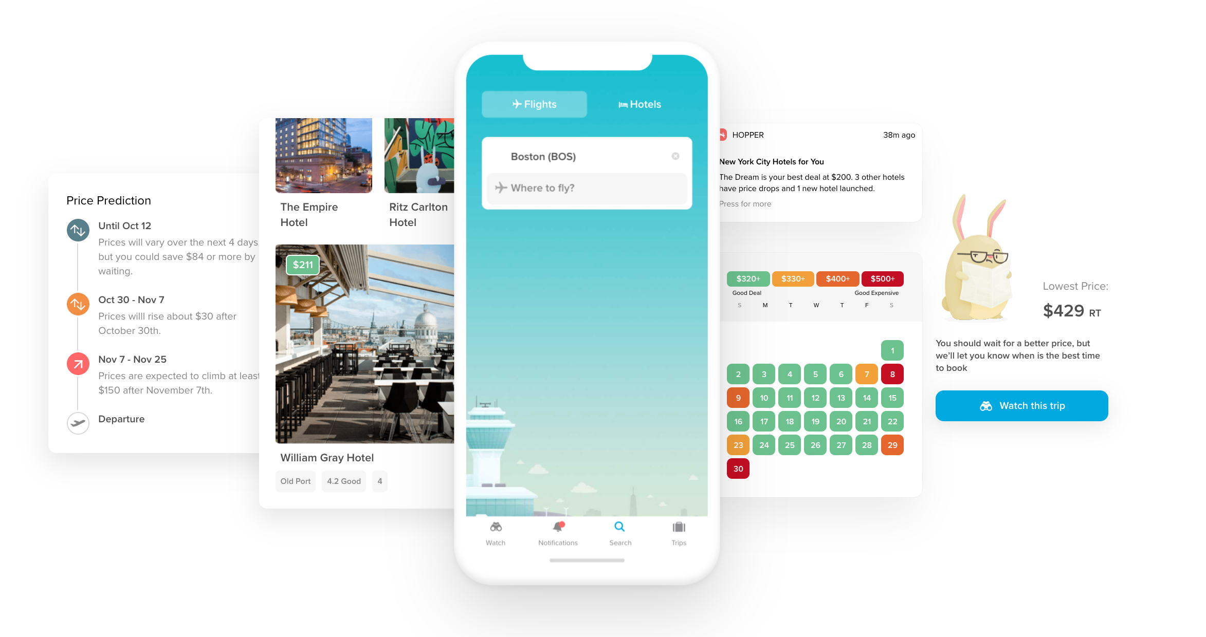 The Hopper App - How to Save Money on Flights & Hotels [2021]