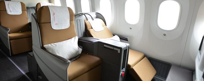 Kenya Airways 787 Бизнес класс