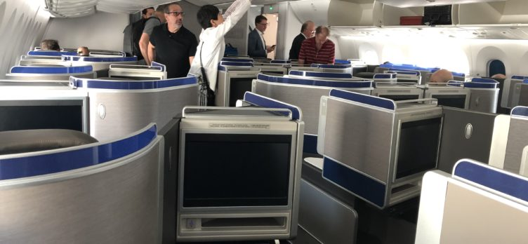 United Polaris 787-10 rear cabin view 2