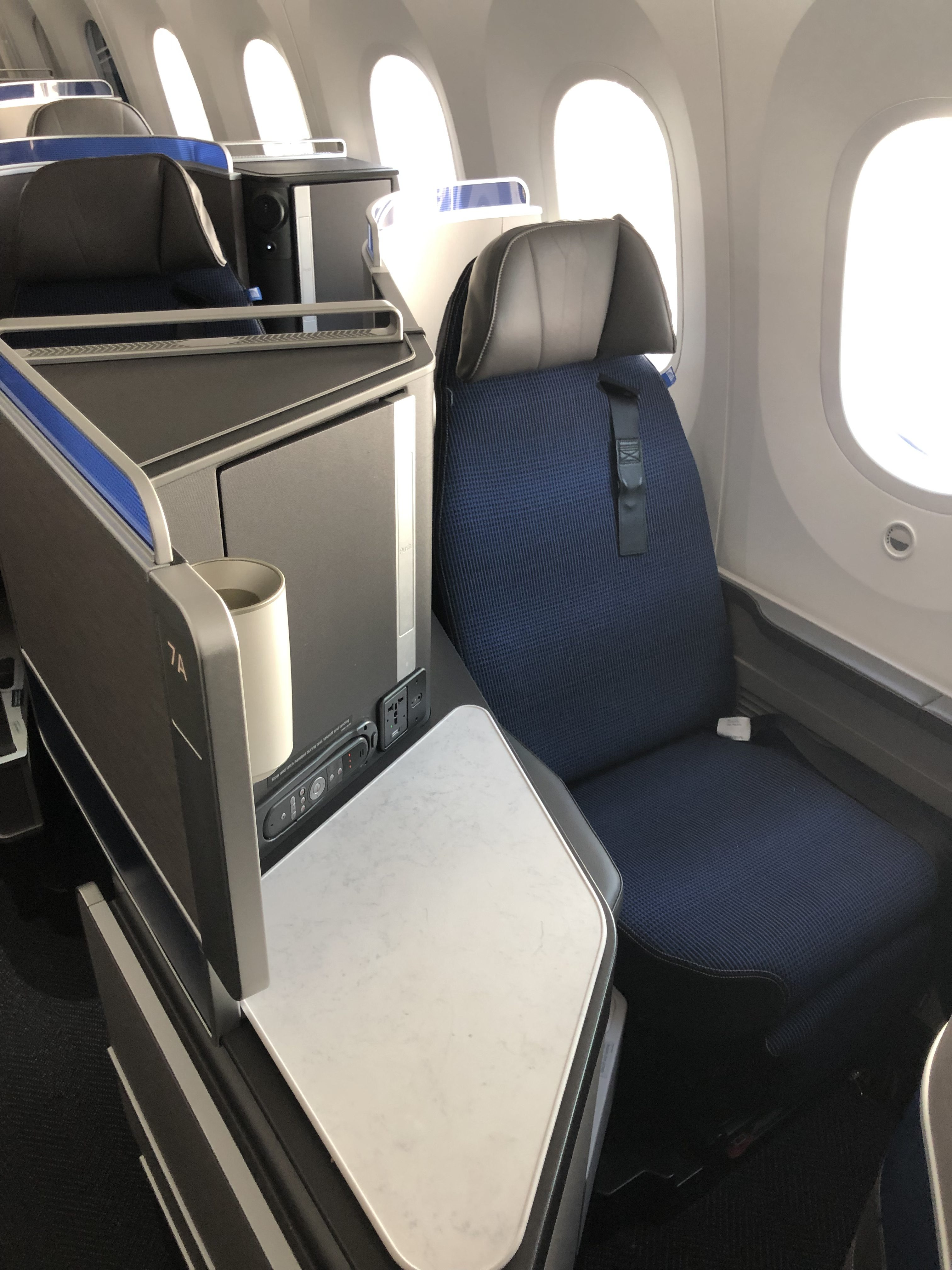 United 787-10 Polaris Business Class Review - LAX to IAH [Detailed]