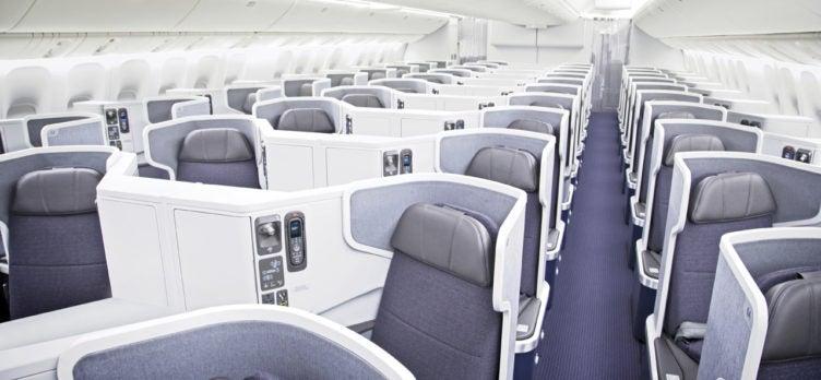 AA 777 Business Class