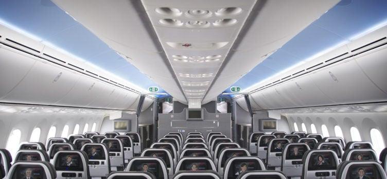 AA 787 Main Cabin