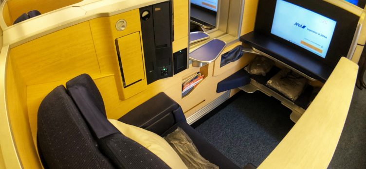 ANA First Class Cabin, Boeing 777,
