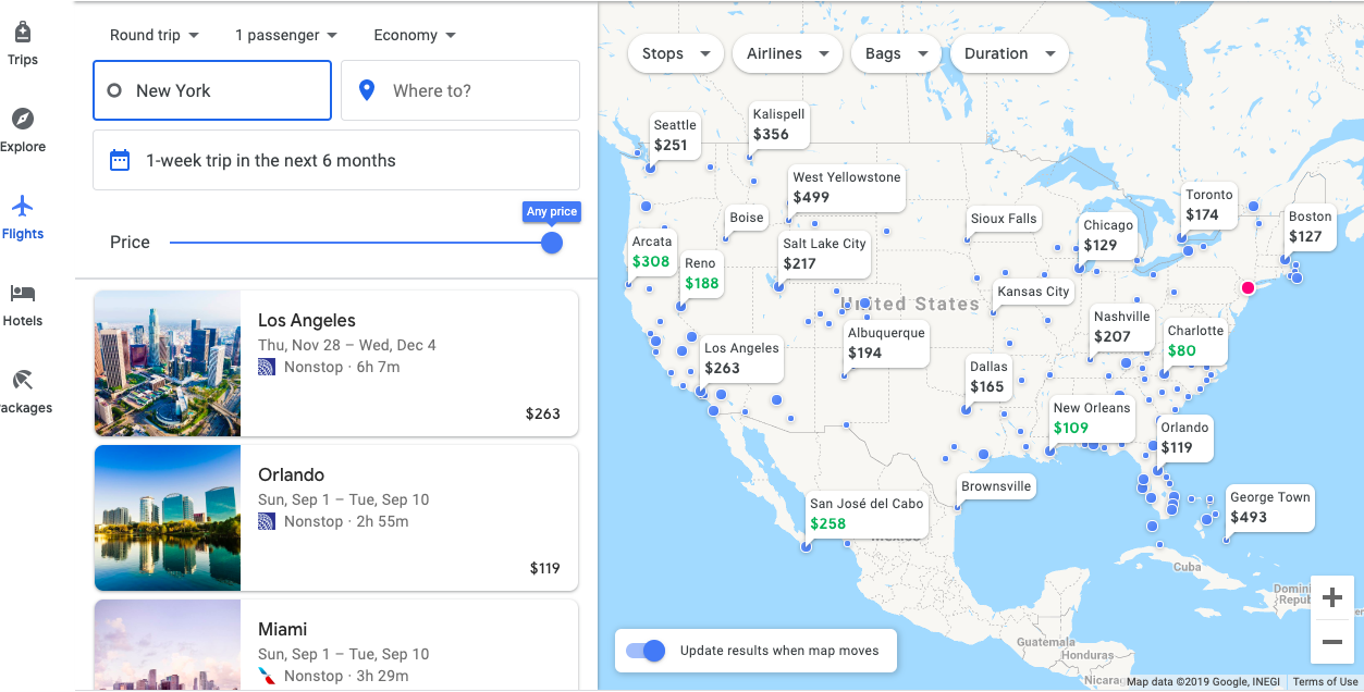 How To Use Google Flights To Track & Find Cheap Prices [2019]