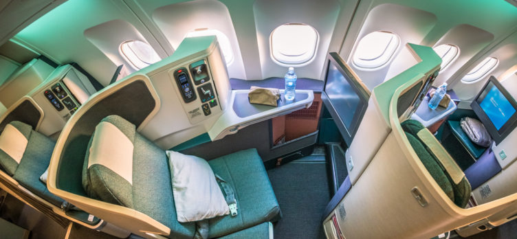 Cathay Pacific Airbus A330 Business Class Seat