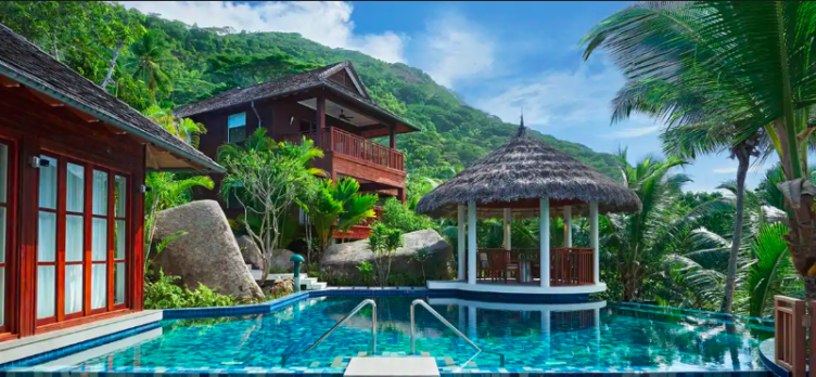 Hilton Seychelles Labriz Resort Spa Pool