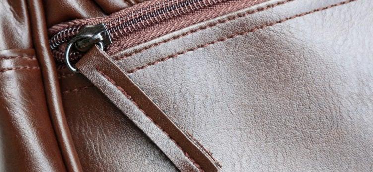 Leather Travel Dopp Kit