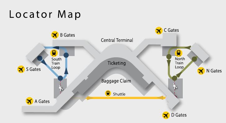 seattle airport map terminal Seattle Tacoma International Airport Sea Terminal Guide 2020 seattle airport map terminal