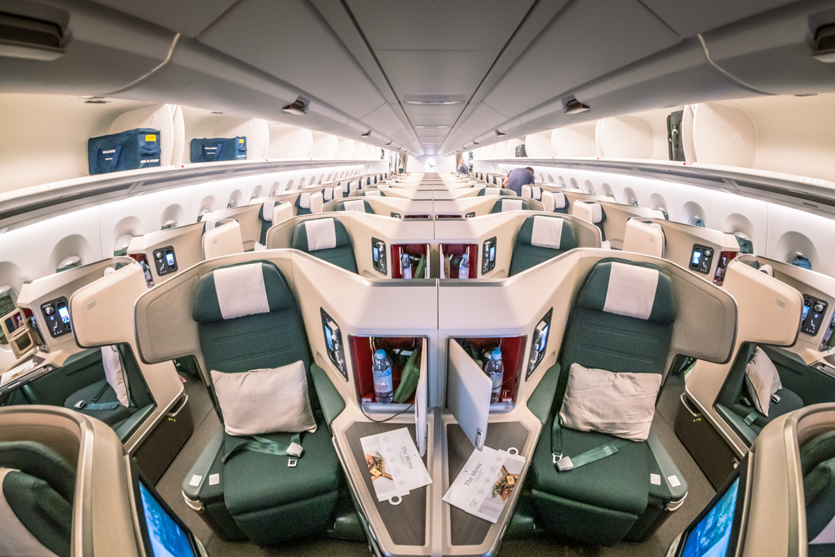 Astounding Cathay Pacific Airbus A350 1000 Business Class Review Hkg Machost Co Dining Chair Design Ideas Machostcouk