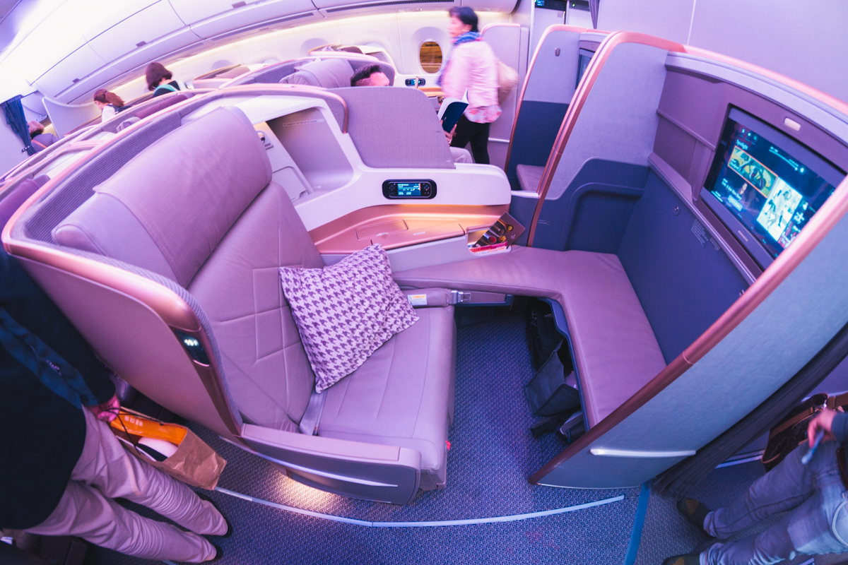 Singapore Airlines A350 Business Class Review [SIN > DUS]