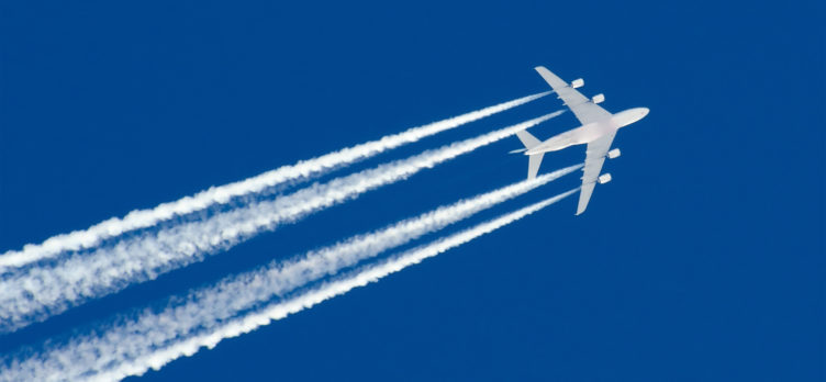 Airplane streak