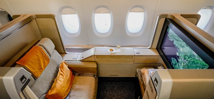 Asiana Airlines A380 First Class Seat 2A - Cherag Dubash