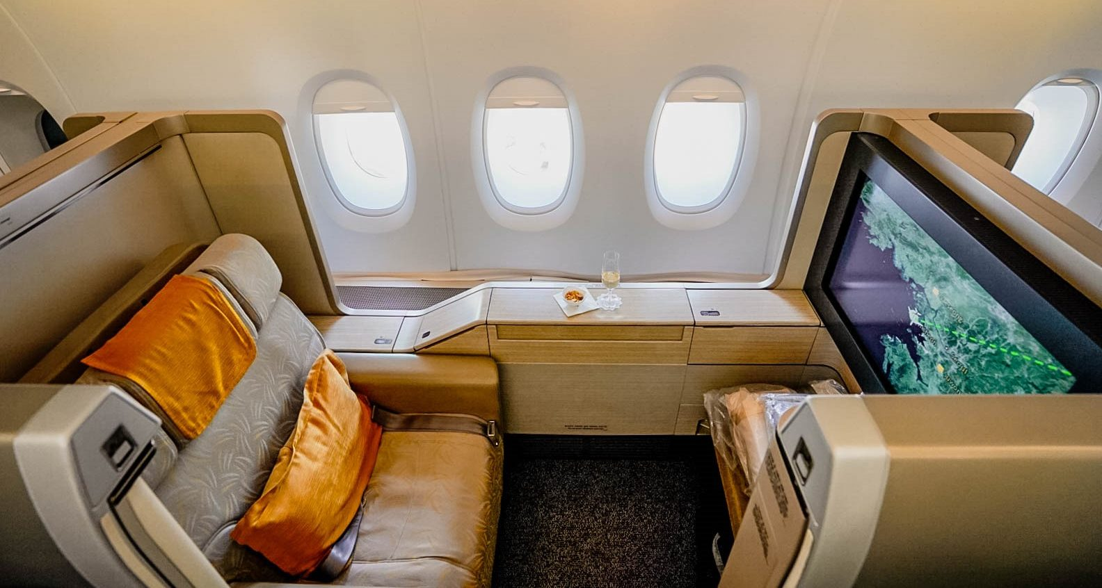 Surprising Asiana Airlines Airbus A380 First Class Review Seoul Los Ibusinesslaw Wood Chair Design Ideas Ibusinesslaworg