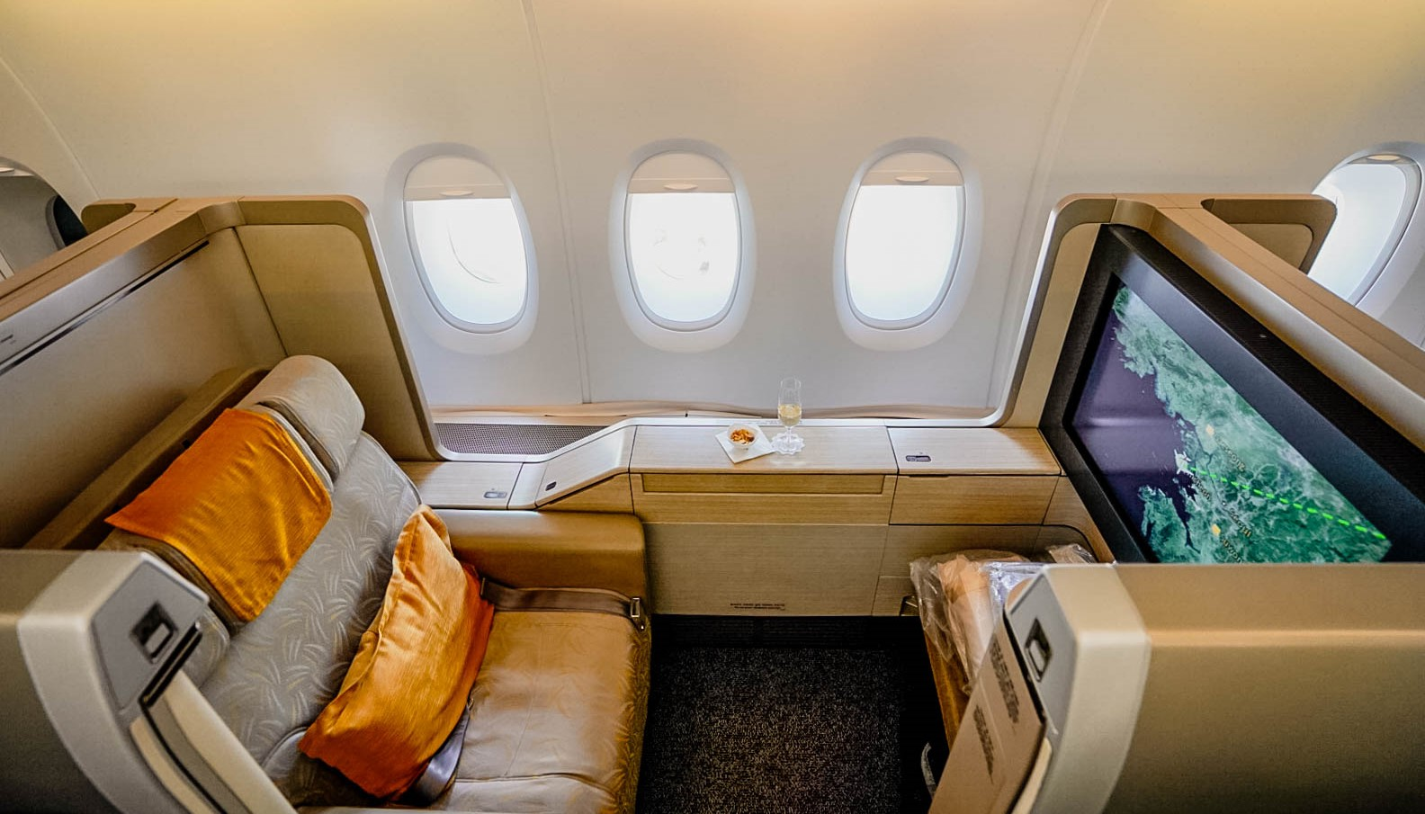 Asiana Airlines Airbus A380 First Class